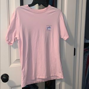Women's Pink Southern Tide with Blue Fish Top